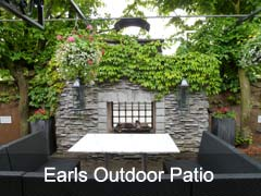 Earls Restaurant Planters