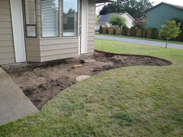 Flower Bed Makeover 2a