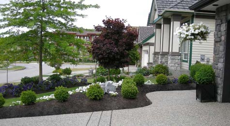 landscaping portfolio fabulous flower beds. Black Bedroom Furniture Sets. Home Design Ideas