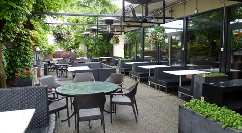 Nice Restaurant Patio Planters   Before Restaurant Patio Planters   After